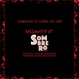 Sombrero NYC Halloween Party