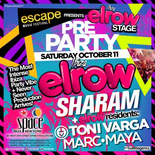 Space Ibiza New York | Infamous Elrow Party to NYC