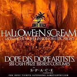 Space Theater Westbury Halloween Scream 2019