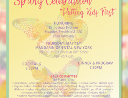 Solving Kids' Cancer Putting Kids' First Spring Celebration