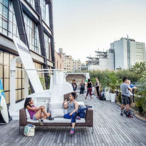 #TheSweatSessions: Meatpacking District's Free Fitness Series