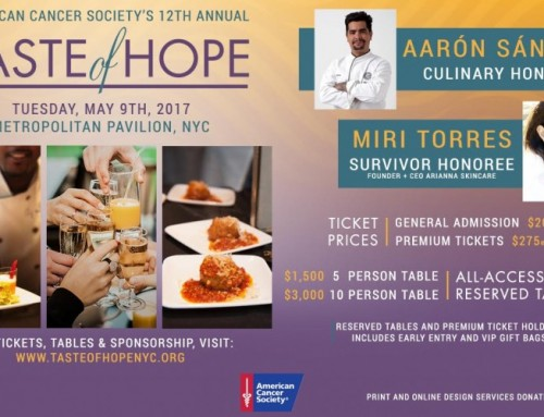 American Cancer Society's 12th Annual Taste of Hope