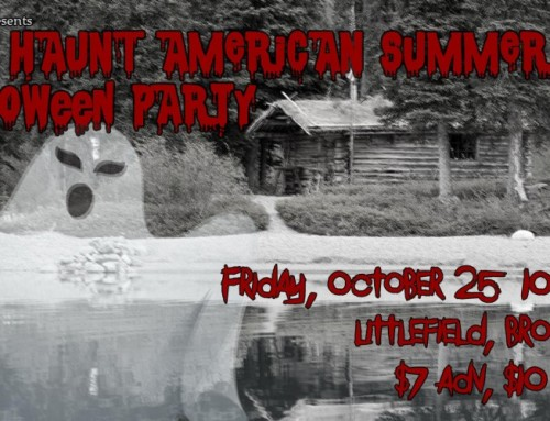 the skint presents: Wet Haunt American Summer Halloween Party