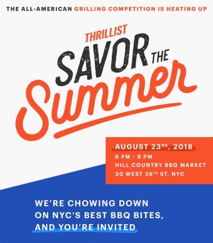Savor the Summer with Thrillist