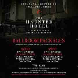 Ravel Hotel Halloween party at the Ballroom