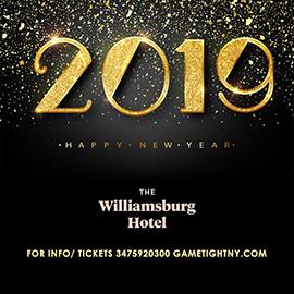 The Williamsburg Hotel New Years Eve 2019