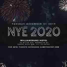 The Williamsburg Hotel NYE New Years Eve 2020