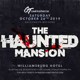 The Williamsburg Hotel Halloween party 2019