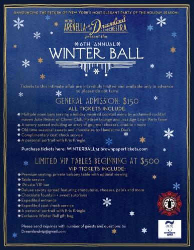 Michael Arenella's 6th Annual Winter Ball