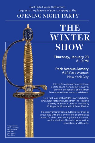 The Winter Show: 2020 Opening Night Party