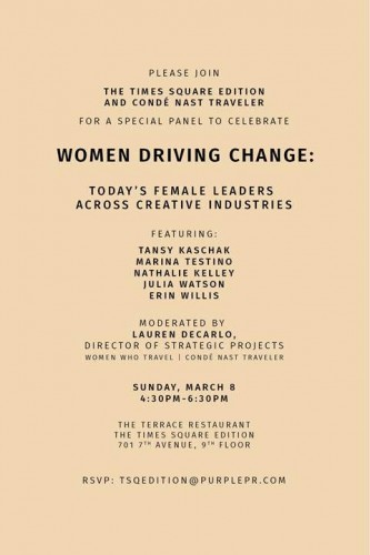 Women Driving Change: Today's Female Leaders Across Creative Industries