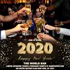 The World Bar NYC 50s & Over New Year's Eve Party 2020